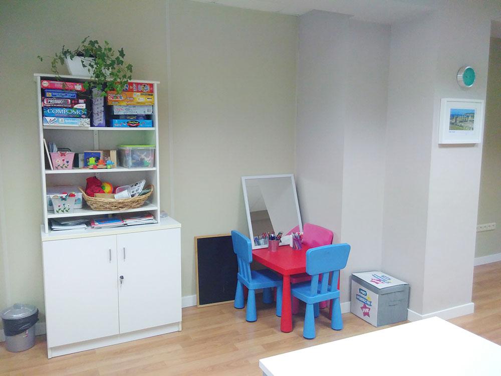 Nuestro centro, consulta de psicología infantil